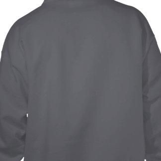 Planlägg dina egna mörka grå färg sweatshirt med luva