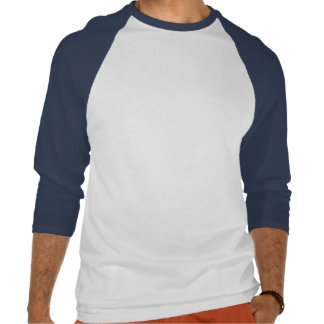 Planlägg dina egna vit och kungliga blått t shirts