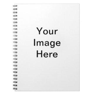 Planlägg ditt eget anteckningsbok med spiral