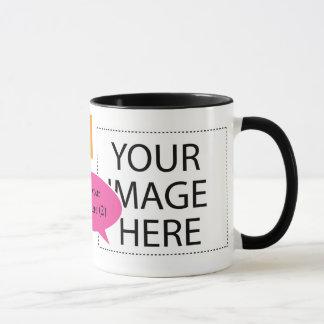 Planlägg ditt egna beställnings- kaffemuggtal mugg