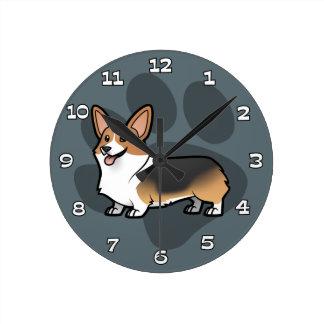 Planlägg ditt egna husdjur rund klocka