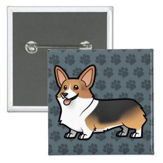 Planlägg ditt egna husdjur standard kanpp fyrkantig 5.1 cm