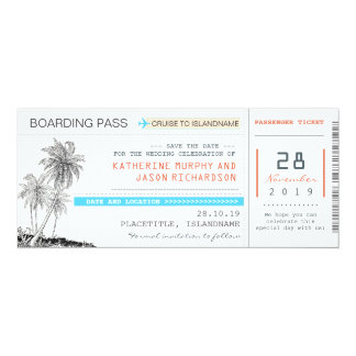 plant stiga ombord för biljetter passerar spara 10,2 x 23,5 cm inbjudningskort