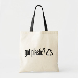 plast- har? Återvinning undertecknar Budget Tygkasse
