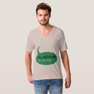 Plast-!? /Manar bra Jersey för amerikandräkt Tee Shirts