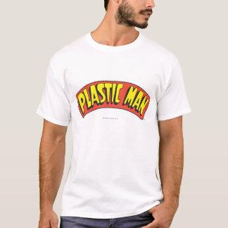 Plast- manlogotyp t-shirt