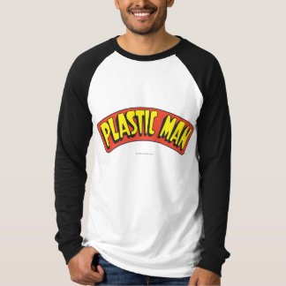 Plast- manlogotyp t-shirts