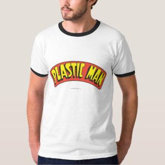 Plast- manlogotyp tee shirts