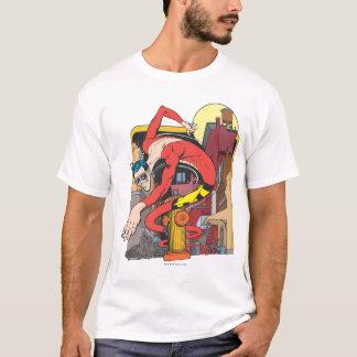 Plast- manShape-Förskjutningar i staden T-shirts