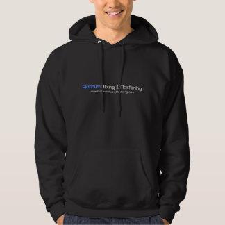 Platina som blandar & styr hoodien sweatshirt med luva