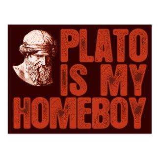Plato är min Homeboy Vykort