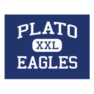 Plato - örnar - högstadium - Plato Missouri Vykort