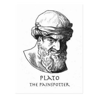 Plato Painspotteren Vykort