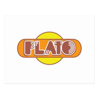 Plato Vykort