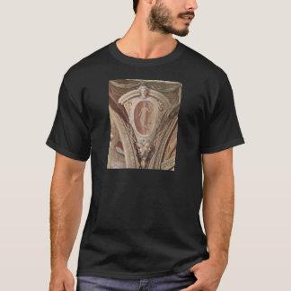 Plats av allegorier av de huvudsakliga tee shirts