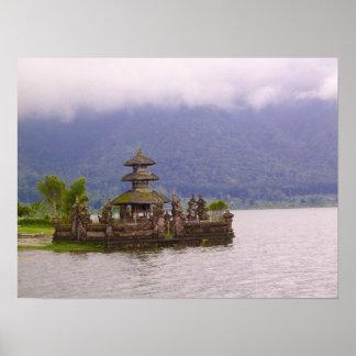 Plats av Bali Poster