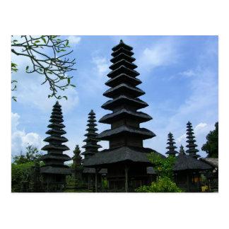 Plats av Bali Vykort