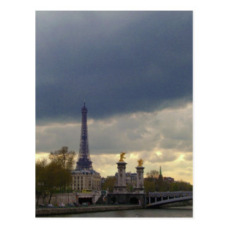 Platser av Paris Vykort