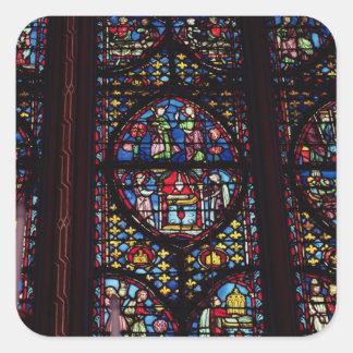 Platser från den gammala testamentet, 13th fyrkantigt klistermärke