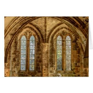 Platser från en fransk Abbey OBS Kort