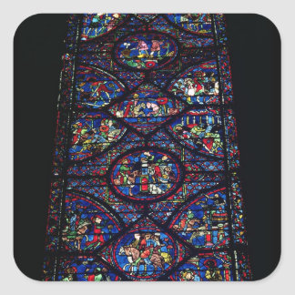 Platser från livet av Charlemagne (747-814) från Fyrkantiga Klistermärken