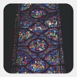 Platser från livet av Charlemagne (747-814) från Fyrkantigt Klistermärke