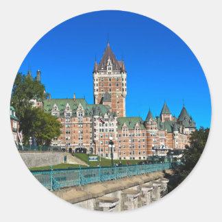 Platser från Quebec City Runt Klistermärke