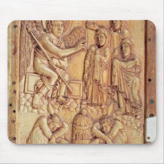 Platta som visar de heliga kvinnorna på graven musmatta