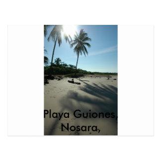 Playa Guiones Vykort
