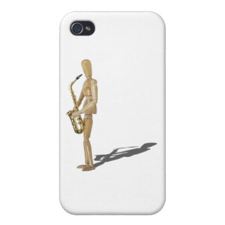 PlayingTheSaxophone020511 iPhone 4 Cover