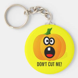Please klipper inte den förskräckt Halloween Rund Nyckelring