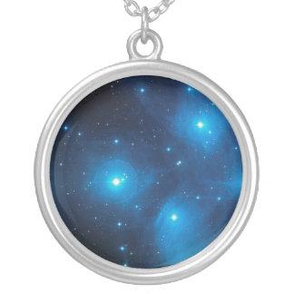 Pleiades Silverpläterat Halsband