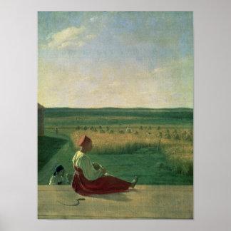 Plockning i sommaren, 1820s poster