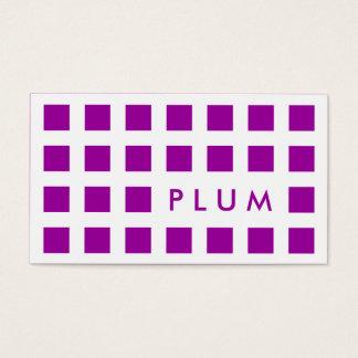 PLOMMON (modet kvadrerar), Visitkort