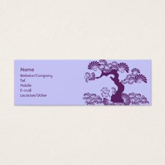 Plommonträd Litet Visitkort