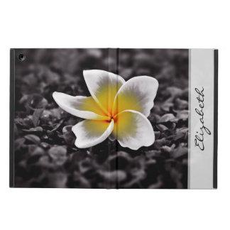 PlumeriaFrangipaniHawaii blomma iPad Air Skal