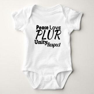 PLUR - Fred kärlek, enhet, respekt T Shirts