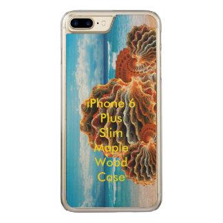 plusen Slim för iPhone 6 avbildar Carved iPhone 7 Plus Skal
