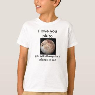 Pluto kärlek t shirts