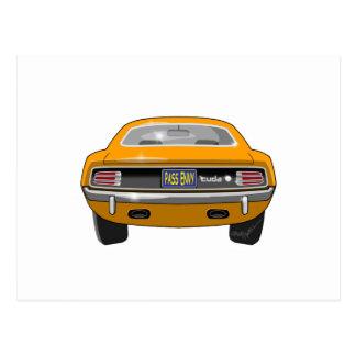 Plymouth Barracuda 1970 Vykort