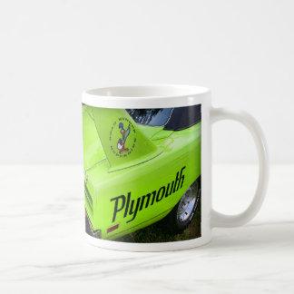 Plymouth Superbird grönt 1970 Kaffemugg