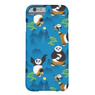 Po- och Bao blåttmönster Barely There iPhone 6 Skal
