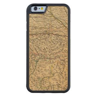 Po River dal i italien Carved Lönn iPhone 6 Bumper Skal