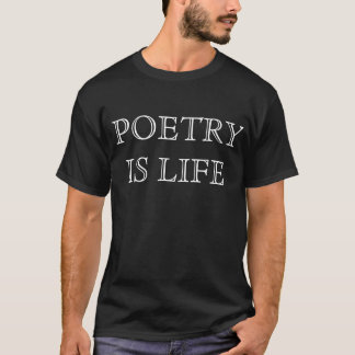 poesi är liv tee