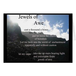poesi - juvlar av Awekortet Hälsningskort