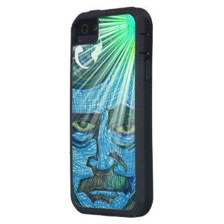 poeT i blått iPhone 5 Case-Mate Cases
