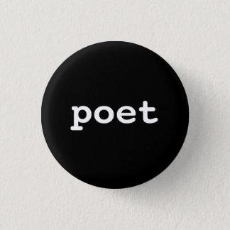 poet mini knapp rund 3.2 cm