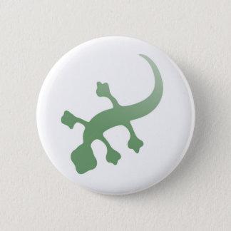 Poetica Gecko i grönt Standard Knapp Rund 5.7 Cm