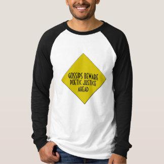 Poetiska rättvisamanar Raglan Tee Shirts