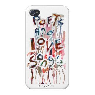 poets och kärleksånger iPhone 4 fodraler